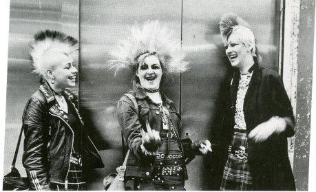 punks, kings road 1980